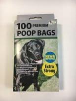 Poop Bags - Box of 100 Premium Fragranced